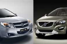 Geely e Volvo: união à vista