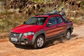 Fiat Strada Adventure Locker Cabine Dupla