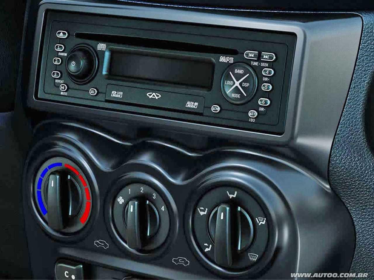 CAOA CheryQQ 2015 - console central