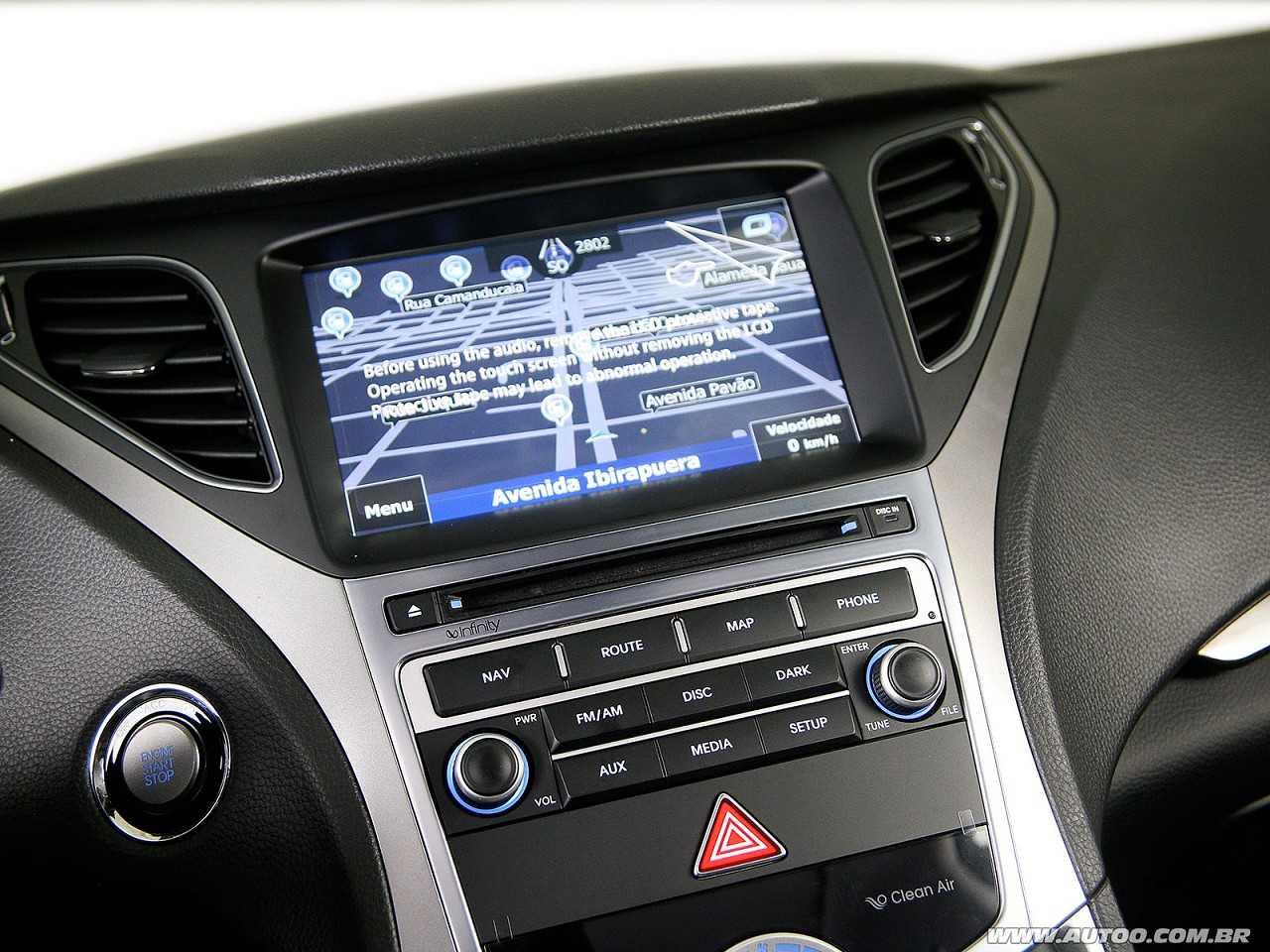 HyundaiAzera 2015 - console central