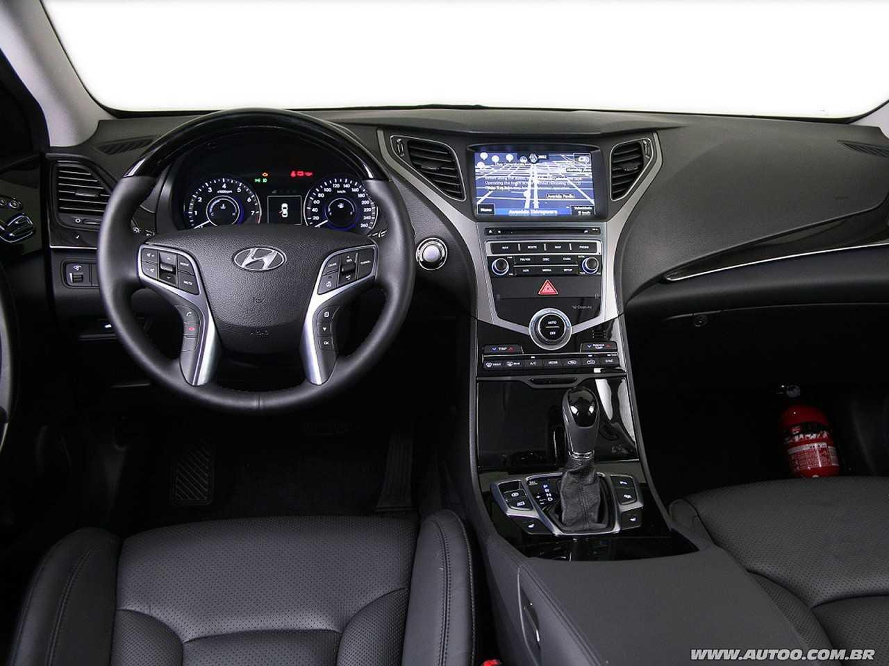 HyundaiAzera 2015 - painel