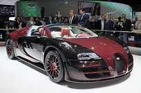 Última versão do Bugatti Veyron, chamada de La Finale