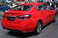 Nova geração do Chevrolet Cruze