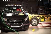 Honda HR-V recebe 5 estrelas na proteção de adultos e crianças pelo Latin NCAP