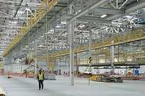 Fábrica da Land Rover começará a ser equipada nas próximas semanas