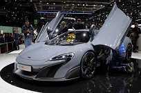 A estrela da McLaren no salão de Genebra foi o supercarro 675LT