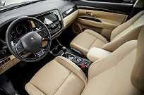 O New Outlander 2016 é equipado com nove airbags: dianteiros, cortina, laterais e de joelhos