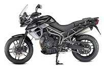 Nova Triumph Tiger XRx, com um tricilíndrico de 800 cc que gera 95 cv