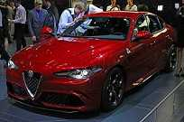 Alfa Romeo Giulia no Salão de Frankfurt