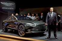 Aston Martin: ausente de Frankfurt, mas presente no menor Salão de Genebra