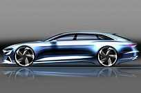 Esboço do Audi Prologue Avant Concept