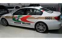 BMW 335i como modelo de frota policial em Santa Catarina