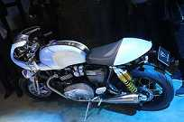 Estilo Cafe Racer na nova moto da Triumph