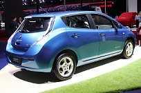 A Venucia pertence a Renault-Nissan Dongfeng Motor Corporation. Isso explica este Leaf piorado mostrado no Salão de Xangai 2015