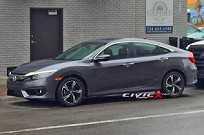 Novo Honda Civic: flagra em plena rua nos EUA e visual radical