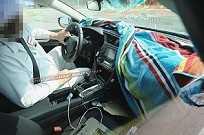 Flagra do painel do novo Honda Civic