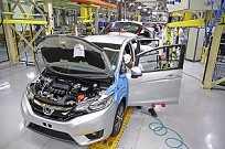 O Fit será o primeiro carro a ser produzido em Itirapina