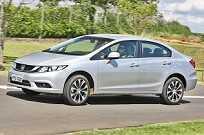 O Civic LXR 2016 chega às lojas na segunda uinzena de fevereiro por R$ 78.400