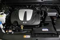 O motor V6 Lambda II: 250 cv de um 3 litros