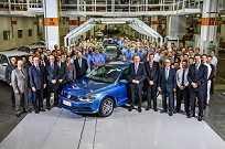 Volkswagen comemora a produção do primeiro Jetta nacional