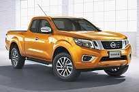 Nova Nissan Frontier, que servirá de base para as novas picapes da Renault e Mercedes-Benz