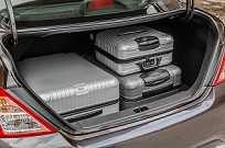 Porta-malas manteve os 460 litros de capacidade