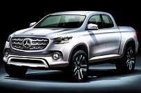 Picape inédita da Mercedes-Benz pode ser produzida no Brasil