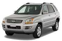 O segundo Sportage nasceu em 2004 compartilhando sua plataforma com o Hyundai Tucson