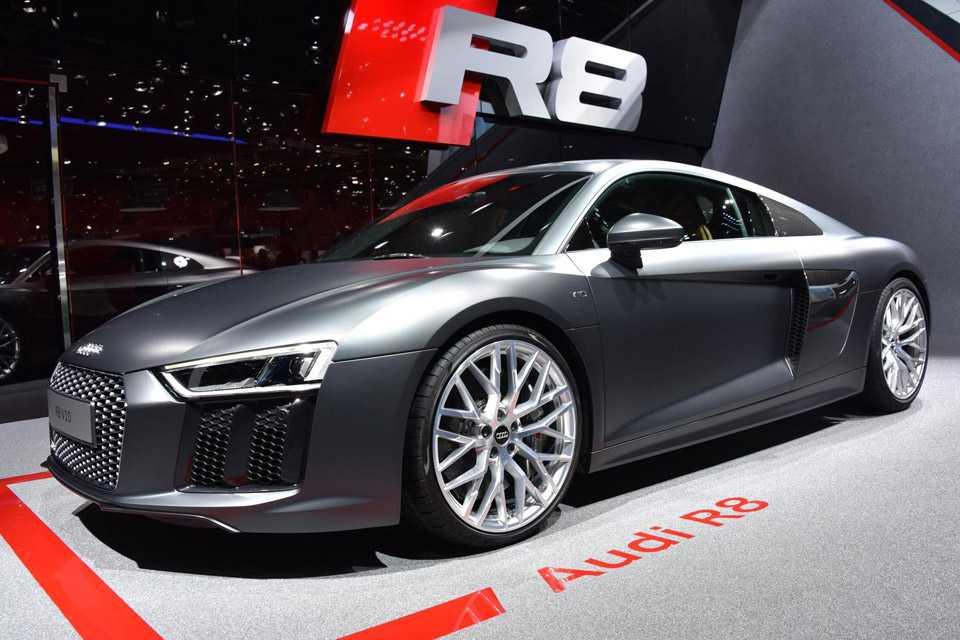 Segunda geração do Audi R8 brilha no Salão de Genebra