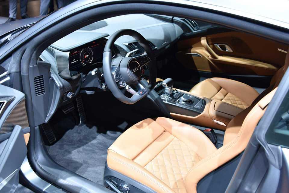Interior do novo Audi R8