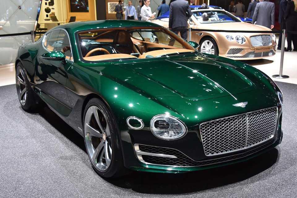 A Bentley revela o conceito EXP-10 Speed 6 em Genebra