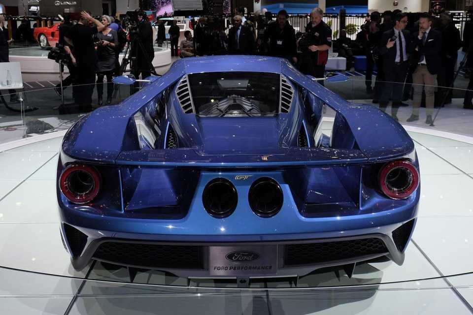 O Ford GT é equipado com um motor 3.5 V6 Ecoboost de 600 cv