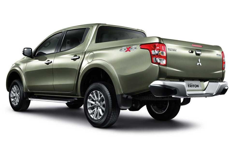 Nova geração da Mitsubishi L200 Triton