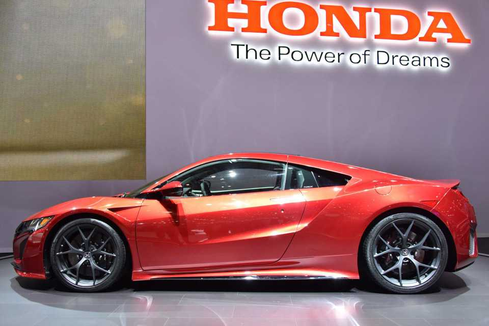 O Honda NSX também marcou presença no Salão de Genebra de 2015