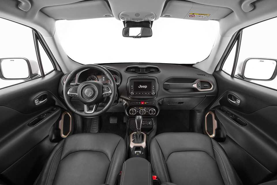 Interior da versão intermediária Longitude