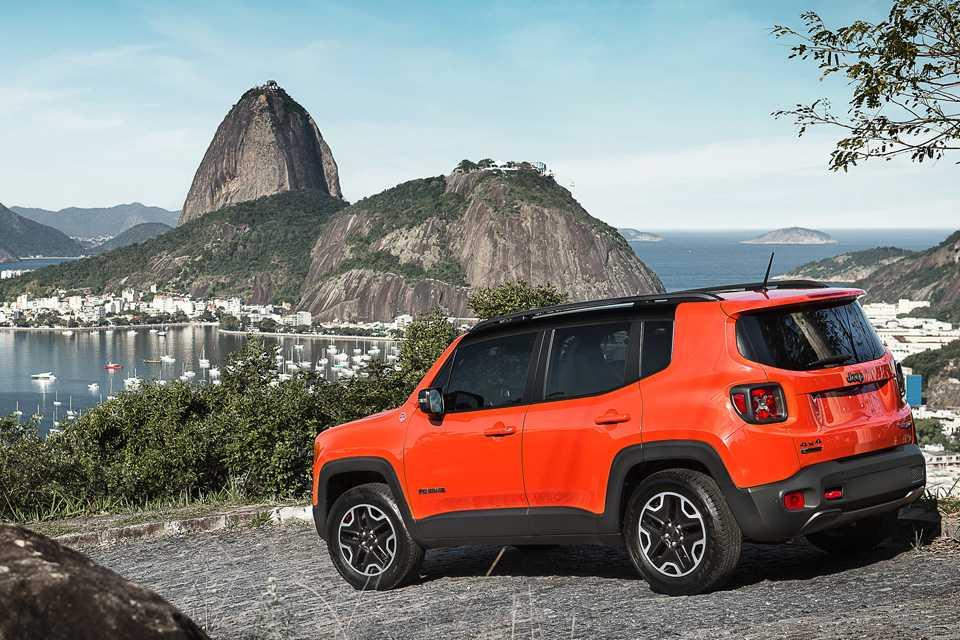 O Jeep Renegade está disponível nas versões Sport, Longitude e Trailhawk
