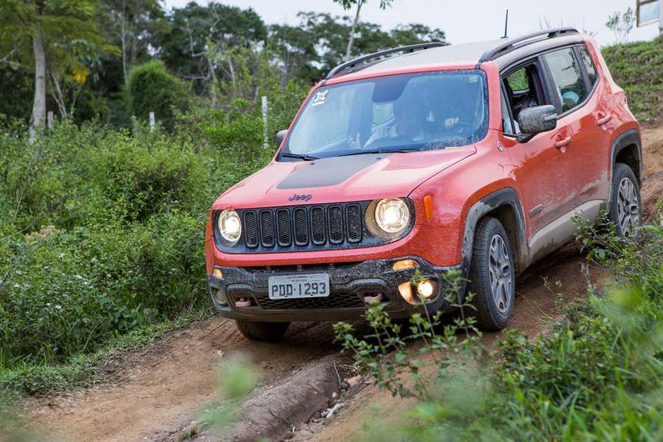 O Jeep Renegade surpreendeu pelas aptidões na terra