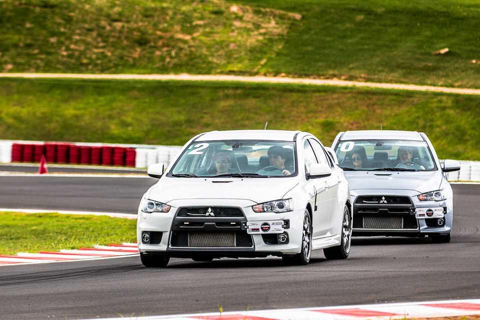 Este é um programa exclusivo da Mitsubishi que ensina em um dia diversas técnicas de direção
