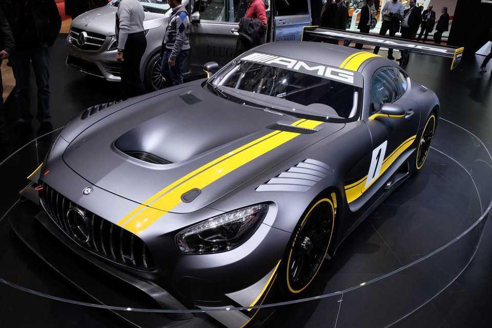 A Mercedes finalmente apresentou o AMG GT3, no Salão de Genebra