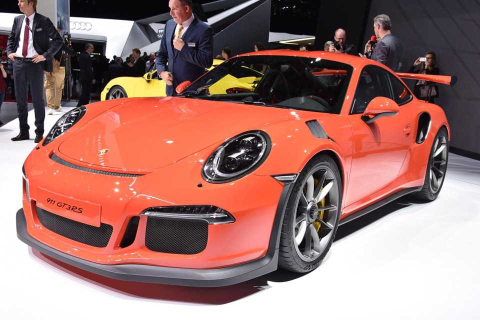 O Porsche 911 GT3 RS é credenciado para as ruas e para as pistas
