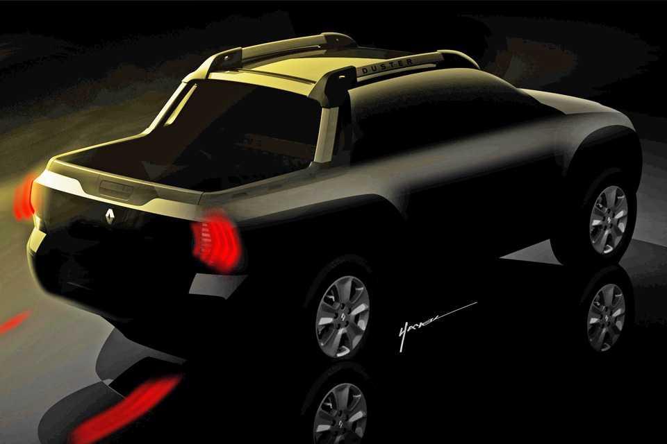 Desenhos da Renault Duster Oroch