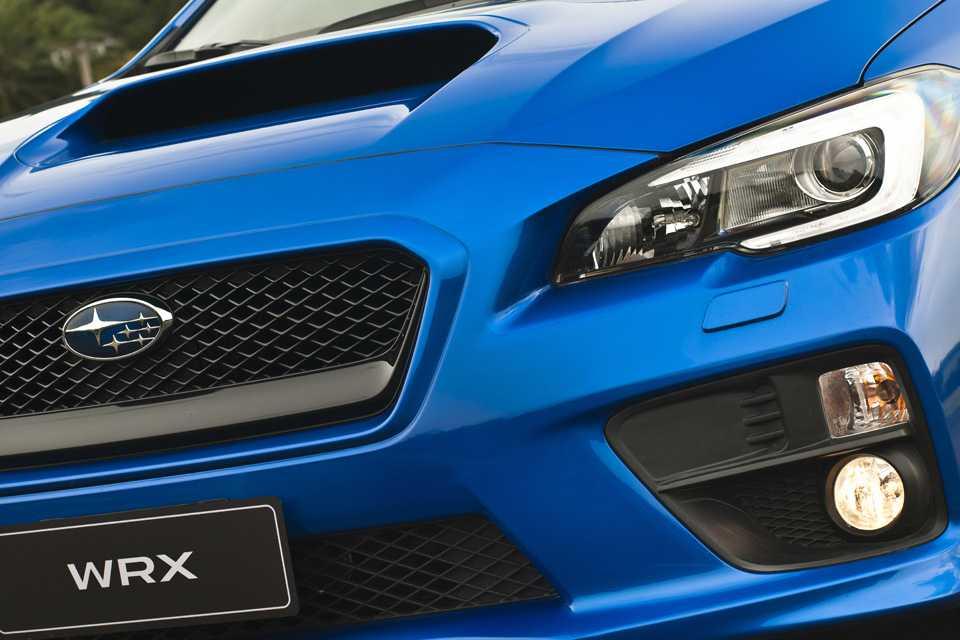 Apesar de ser uma nova geração, o WRX continua a ter um visual característico