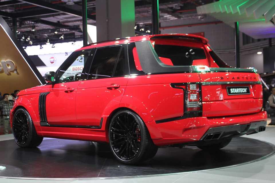 A Startech recortou a carroceria do Range Rover, que dó