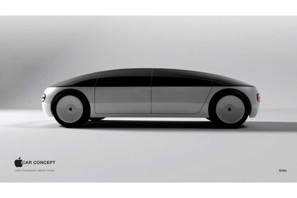 Conceito do suposto Apple Car