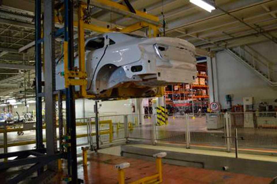 Primeiro Audi A3 Sedan na fábrica da VW no Paraná