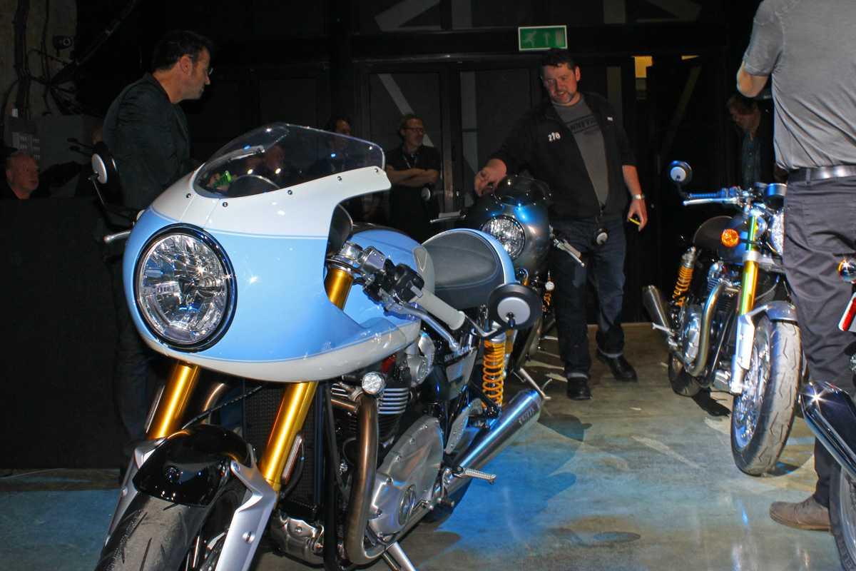 A Triumph mostra as possibilidades de customização do modelo