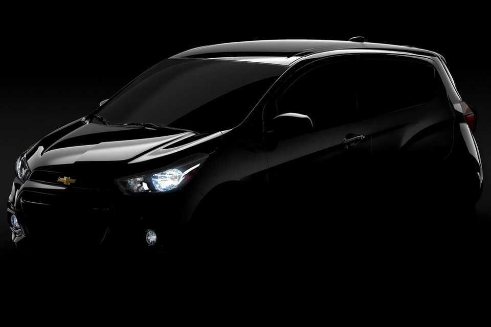 Teaser da próxima geração do Chevrolet Spark