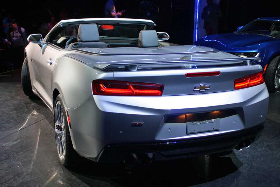 Chevrolet Camaro conversível 2016