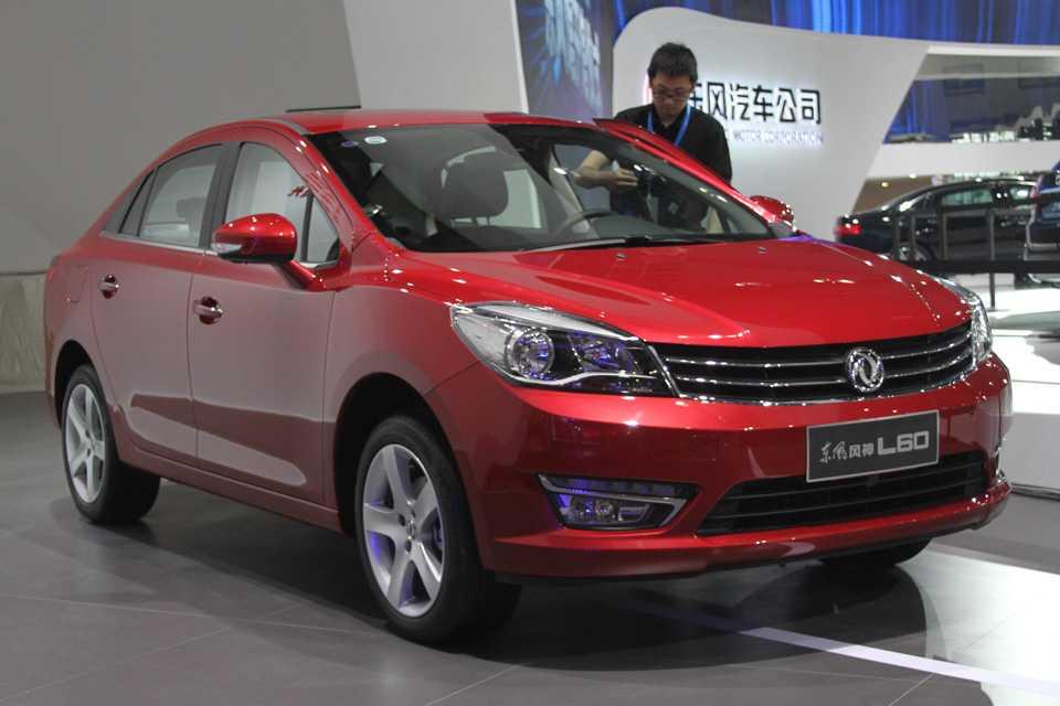 O Dongfeng L60 foi desenvolvido com o apoio técnico do grupo PSA Peugeot Citroën