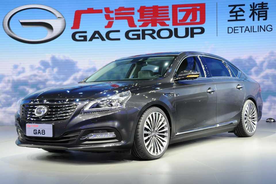 Na dúvida misturaram Audi, Lexus, Volks e mais algumas marcas neste sedã da GAC